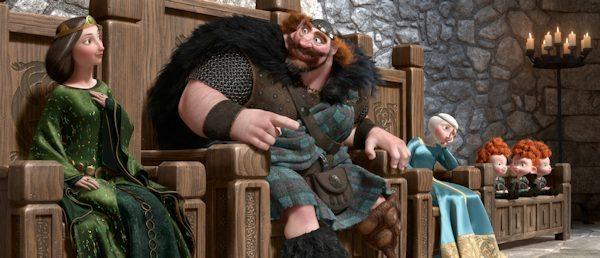 Disney Pixar's BRAVE animated movie - in theaters 6/22/12