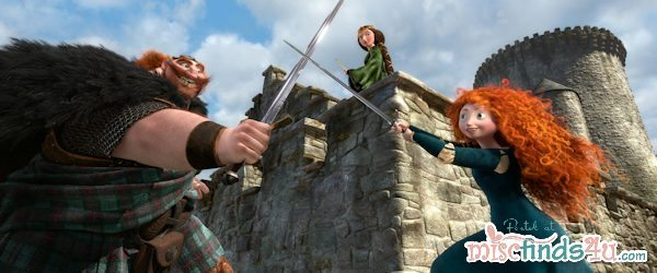Princess Merida Movie Still - Disney Pixar's BRAVE 2012