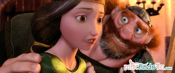 Disney Pixar Movie Still - BRAVE Queen and King
