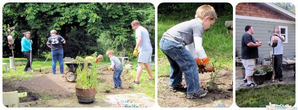 #cbias Digging, scrubbing, hauling, fixing, and having fun were the order of the day!