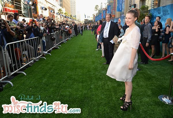 Kelly MacDonald - voice of Merida at BRAVE World Premiere in Hollywood, CA
