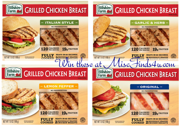 Hillshire Farm Grilled Chicken Breast Recipes