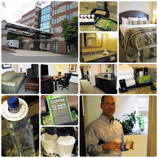 Our weekend in Seattle - Lynwood Embassy Suites Getaway