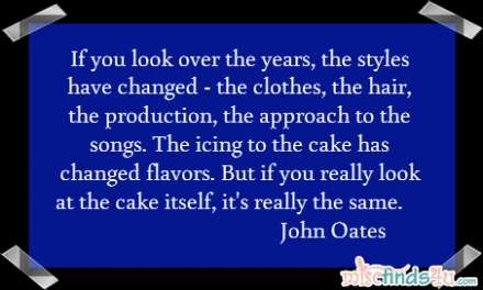Quote: The Cake is the Same Only the Icing Has Changed