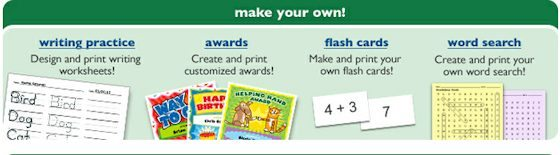 Free downloadable and printable educational worksheets