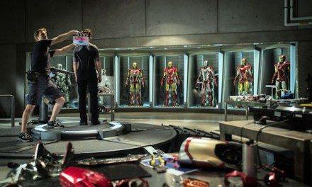 Movies: Marvel's IRON MAN 3 Begins Production {Photo}