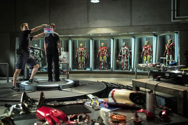 First look at the filming of Disney Marvel's Iron Man 3