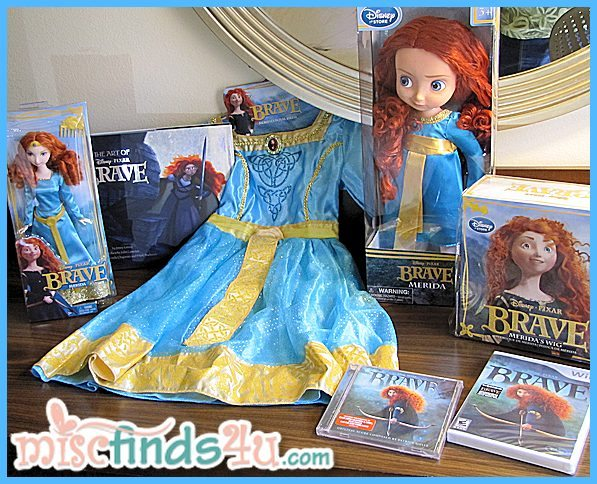 Princess Merida - BRAVE products available at the Disney Store