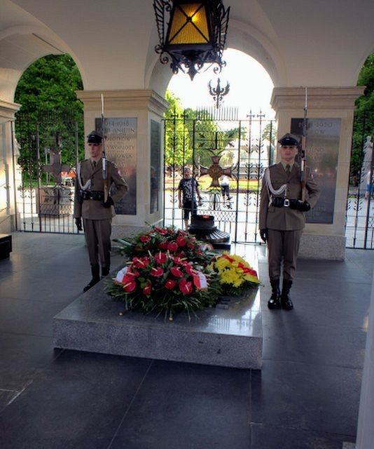 Travel Photography: Poland's Tomb of the Unknown Soldier Warsaw