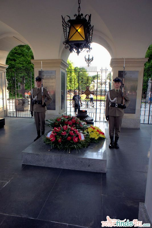 Tomb of the Unknown Soldier - Warsaw, Poland