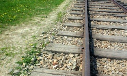 Photography: Train Tracks to Hell Leading to Auschwitz-Birkenau