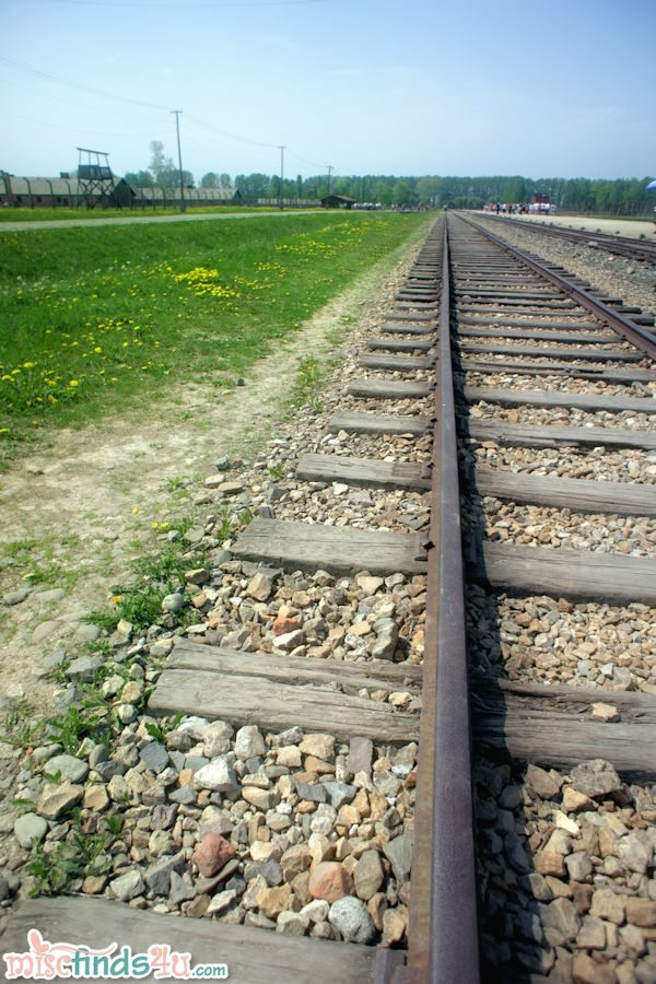 Holocaust Train Tracks taken May 2012