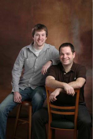 My boys - Alex on the left; Brian on the right - they had pics take for my 50th birthday present