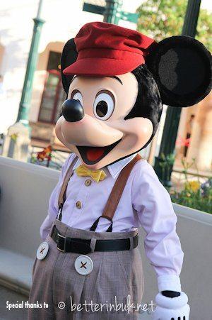 1920's Hollywood Mickey