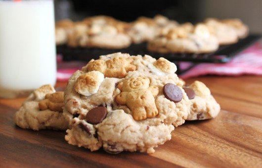 Baked Smores with Teddy Grahams Recipe