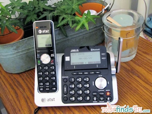 the AT&T TL96271 - 2 Handset Connect to Cell™ Answering System with Caller ID/Call Waiting