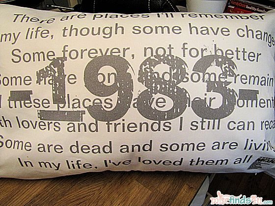 My personalized pillow from Zazzle.com