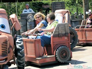Even adults will enjoy Mater's Junkyard Jamboree!