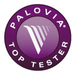 PaloVia Top Tester Badge