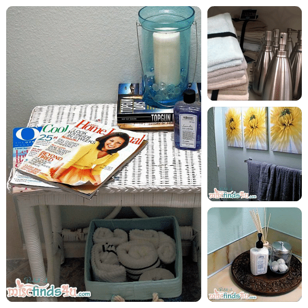 Our guest bathroom makeover
