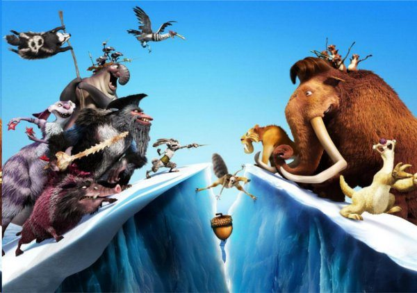 Ice Age Continental Drift Video Game - graphics