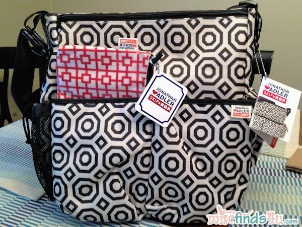 Skip Hop Jonathan Adler Duo Diaper Bag