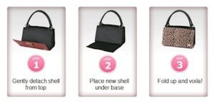 Here's how the Miche bags work - quick and easy transitions!