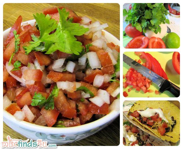 Fresh and Mild Pico de Gallo