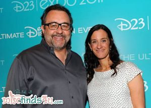 Executive Producer Don Haun and Producer Allison Abbate - photo (C) Disney and used with permission
