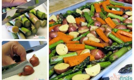 Recipe: Roasted Vegetables with Balsamic Vinegar