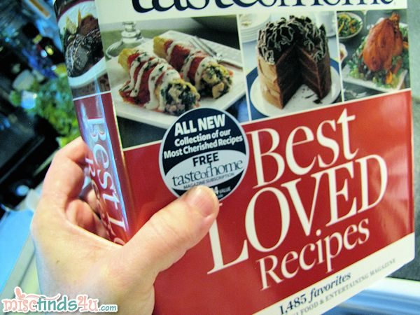 Taste of Home Best Loved Recipes Cookbook Review