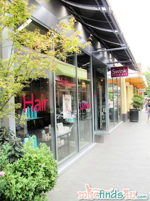 Swink Style Bar at University Village, Seattle, WA - blow dry, make-up, and more