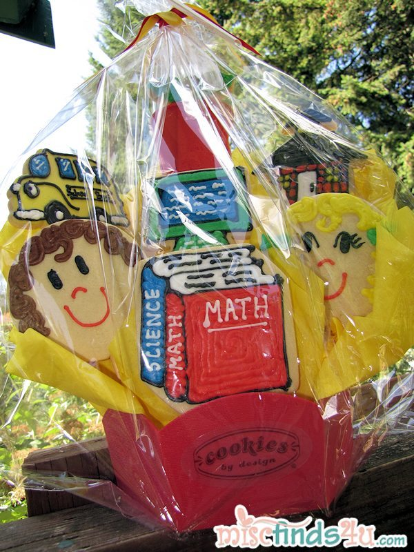 Cookies by Design Back-to-School Celebration Cookie Bouquet Photo and Review