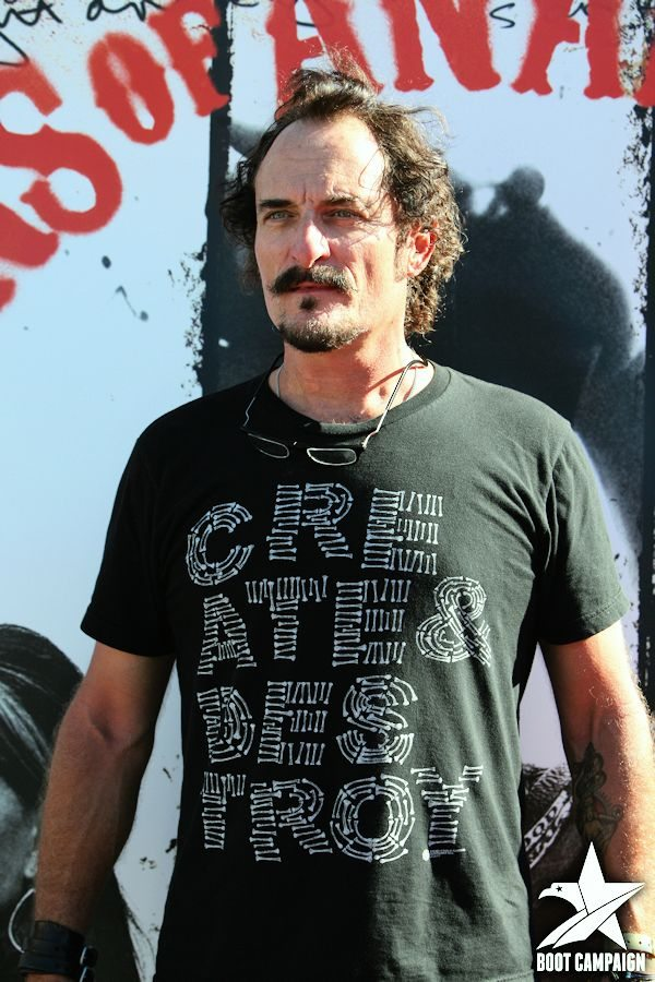 Kim Coates (Tig Tragor) attends the VIP red carpet event
