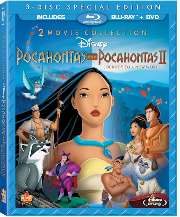 Pocahontas Two Movie Collection on Blu-ray 8/21/12