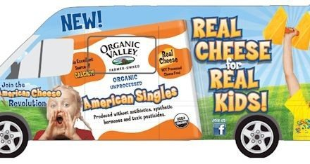 Organic Valley's Real Cheese Tour – Pledge to Feed Kids Good Food