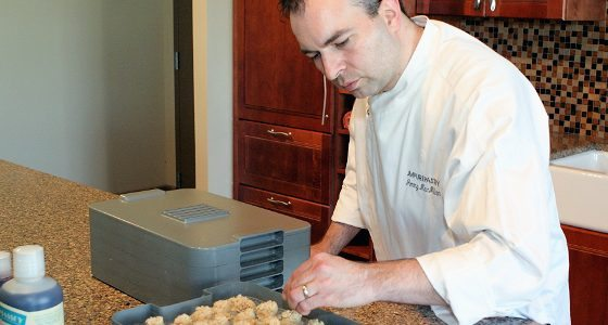 Dehydrator Vanilla Almond Macaroons Recipe by Chef MacMillian