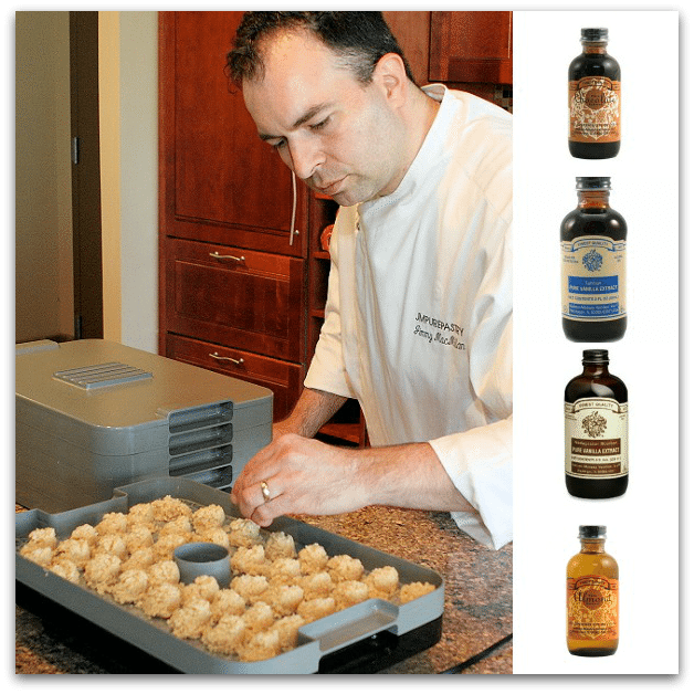 Vanilla Almond Macaroons By Chef Jimmy MacMillian - photo and recipe reprinted with permission