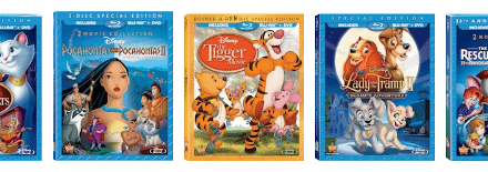 Disney Blu-ray News: 5 Iconic Animated Movies Released 8/21/12