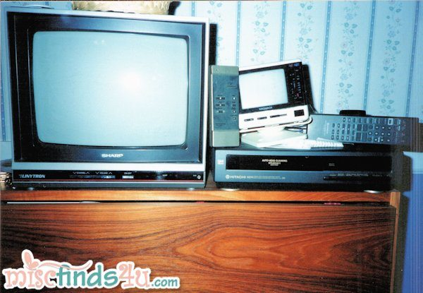 TV's and VHS Player - 1990