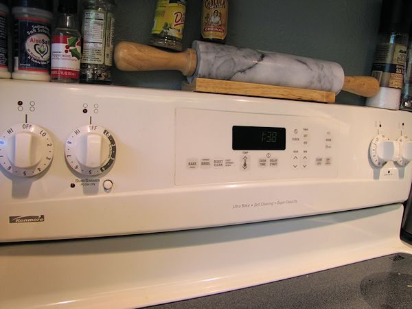 Kenmore Range Model # 655.92014102 Control Panel
