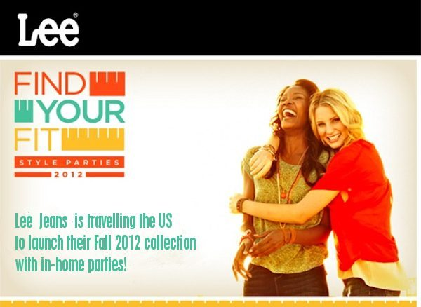 LEE Find Your Fit Find your Style in-home parties