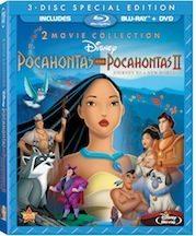 Pocahontas and Pocahontas II on Blu-ray 8/21/12