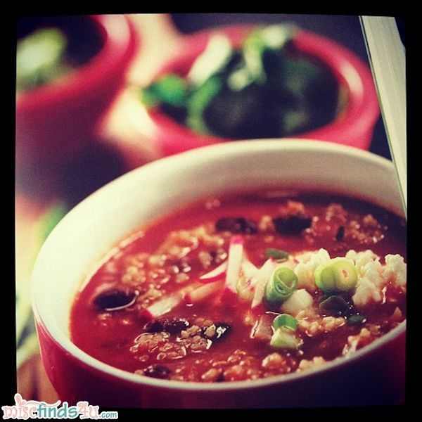 Black Bean Quinoa Chipolte Chili from 500 Best Quinoa Recipes: 100% Gluten-Free Super-Easy Superfood