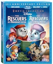 The Rescuers Special Release 8/21/12