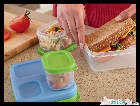 Kitchen Review: Rubbermaid LunchBlox Sandwich Kit