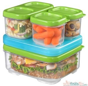 Rubbermaid LunchBlox Sandwich Kit - 4 containers