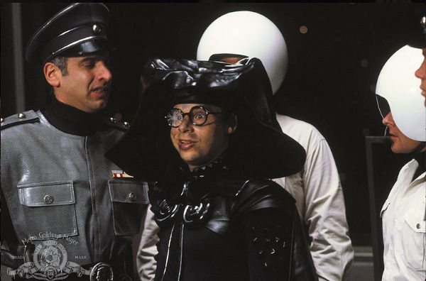 Rick Moranis as Dark Helmet - SPACEBALLS (photo credit MGM.com)