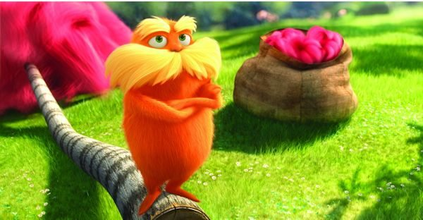 Dr. Seuss' THE LORAX on Home Video - Blu-Ray, 3D, DVD, and Digital Download