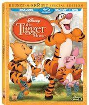 Disney The Tigger Movie on Blu-ray 8/21/12
